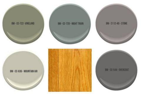 Welche Wandfarbe Passt Zu Eiche Innenräume Painting Oak Cabinets