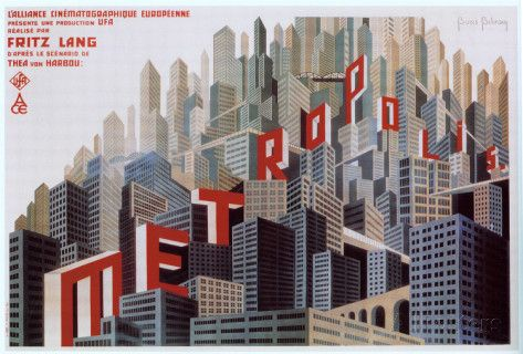 Metropolis French Style Posters Allposters Com Art Deco Posters Metropolis Poster Beautiful Posters