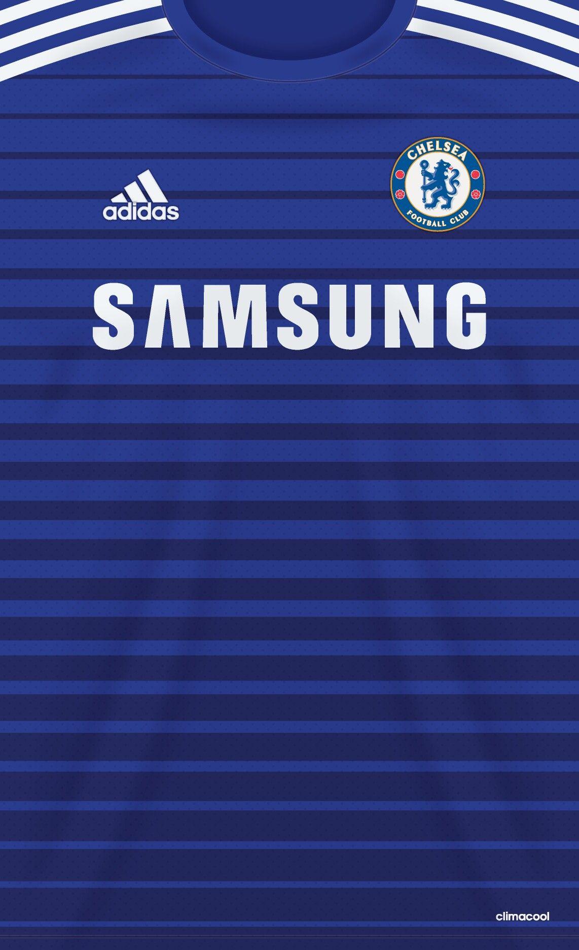 Wallpaper del jersey de Chelsea Azul #cfc #chelsea