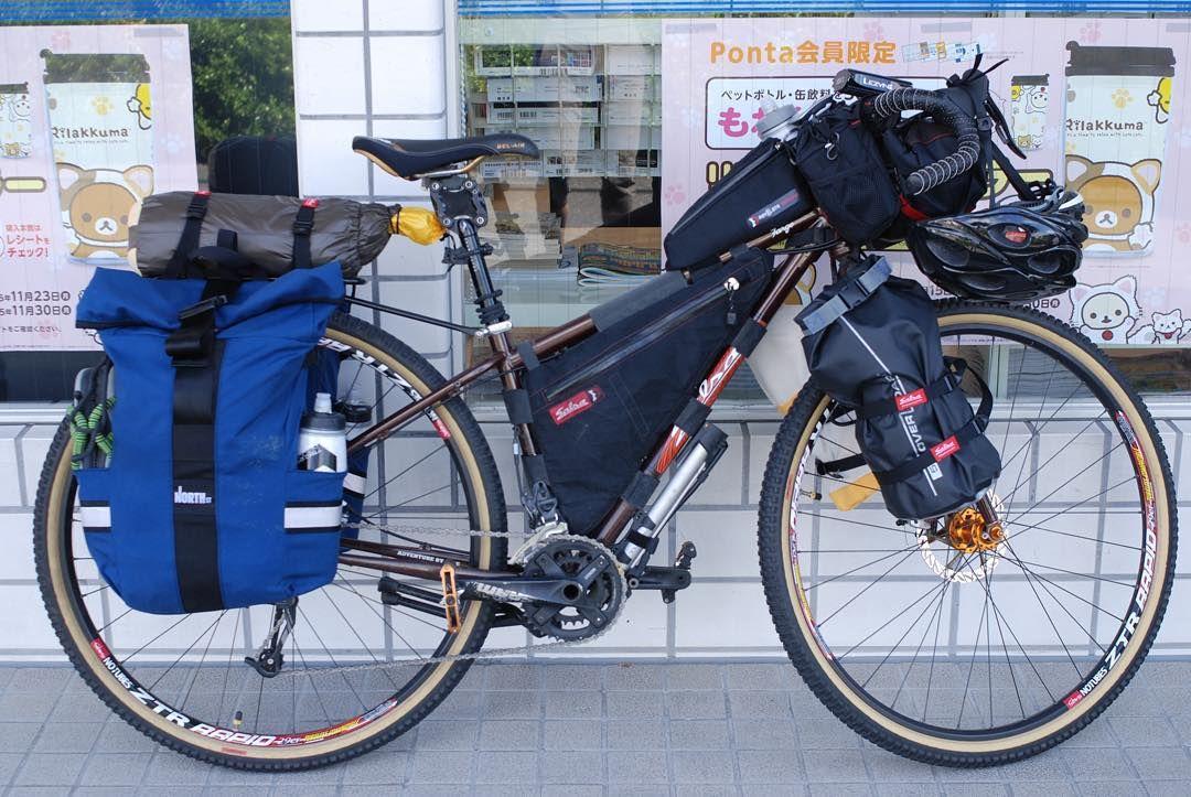 #四国カルストキャンプツーリング#rideshikoku #salsacycles #salsaFargo #bikepacking #NORTHSTBAGS by kenzonakagawa