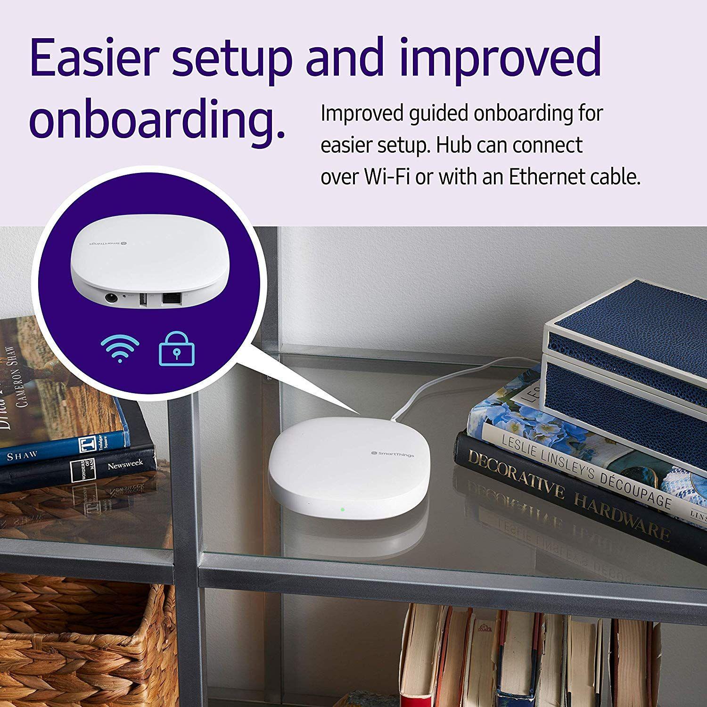 Amazon com : Samsung SmartThings Hub 3rd Generation [GP