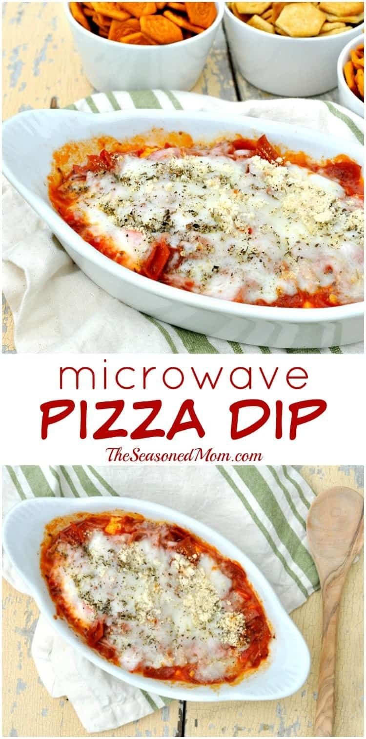 Microwave Pizza Dip An easy and delicious pizza dip that the whole family will love  Pizza Appetizer  Pizza Dip  Microwave Dip