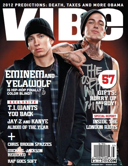Eminem & Yelawolf Talk Race With VIBE | Eminem | Rap Basement