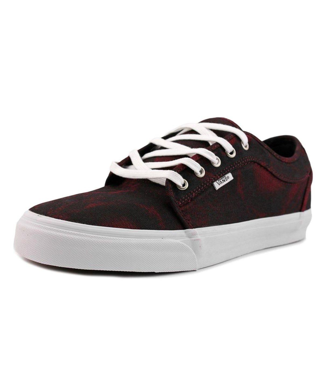 4b0dd56282a2 VANS Vans Chukka Low Men Round Toe Canvas Burgundy Skate Shoe .  vans  shoes   sneakers