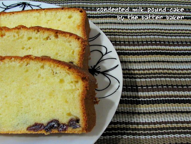The Batter Baker Condensed Milk Pound Cake The Real Sara Lee Danish Butter Cookies Pound Cake Cake