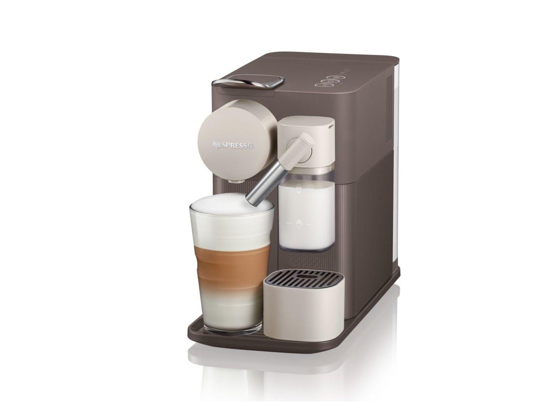 Nespresso Lattissima One Espresso And Cappuccino Machine By Delonghi Warm Slate Coffee Machine Nespresso Nespresso Lattissima Nespresso Machine