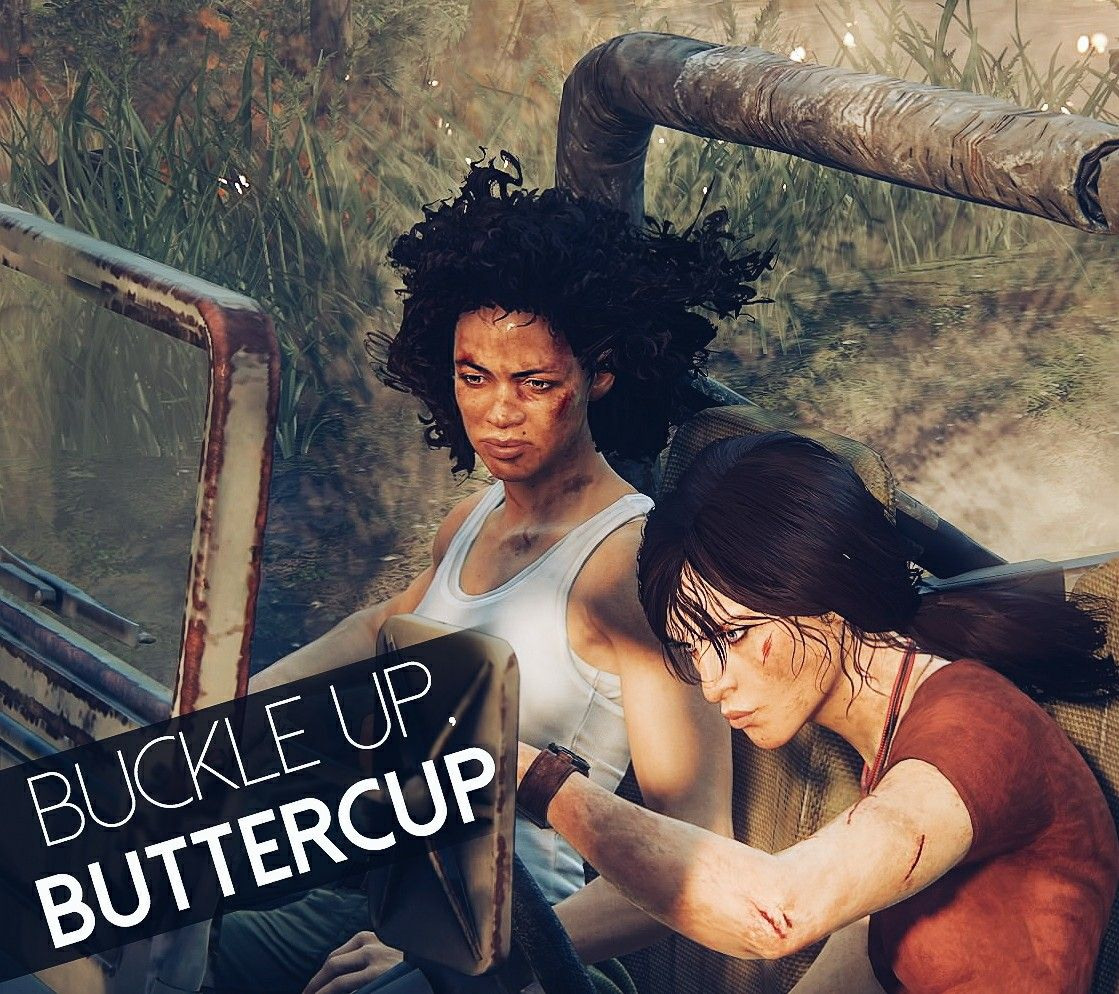 uncharted lost legacy nadine and chloe