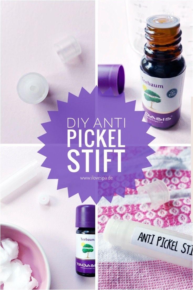 Anti Pickel Stift selber machen aus gerade mal 2 Zutaten – so funktionierts!