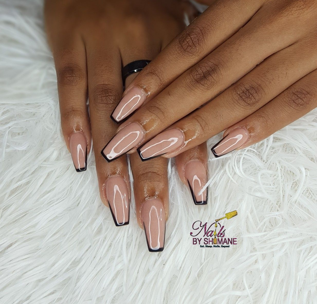 Pin on ART CLEAR NUDE NAILS