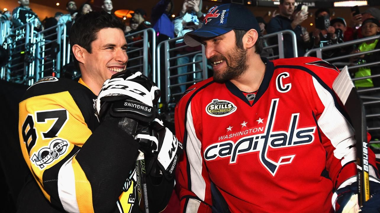 Sidney Crosby, Alex Ovechkin set to join forces Sidney