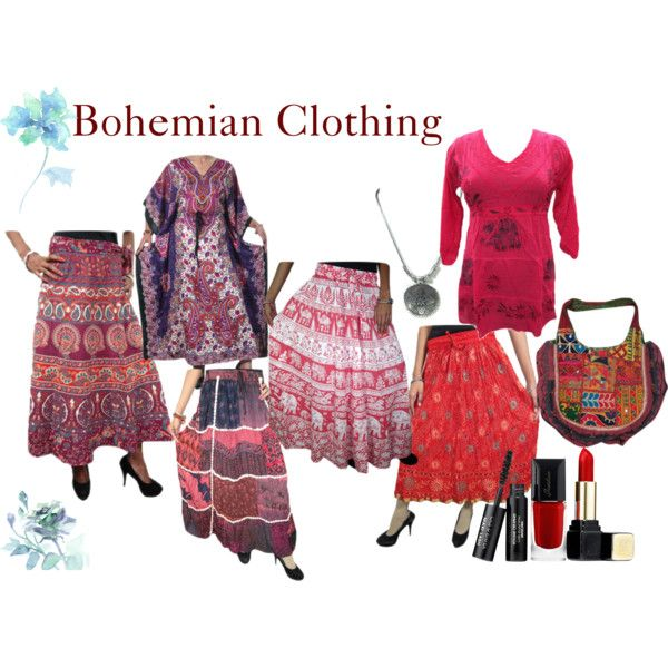 Bohemian Clothing by mogulinteriordesigns on Polyvore featuring Guerlain