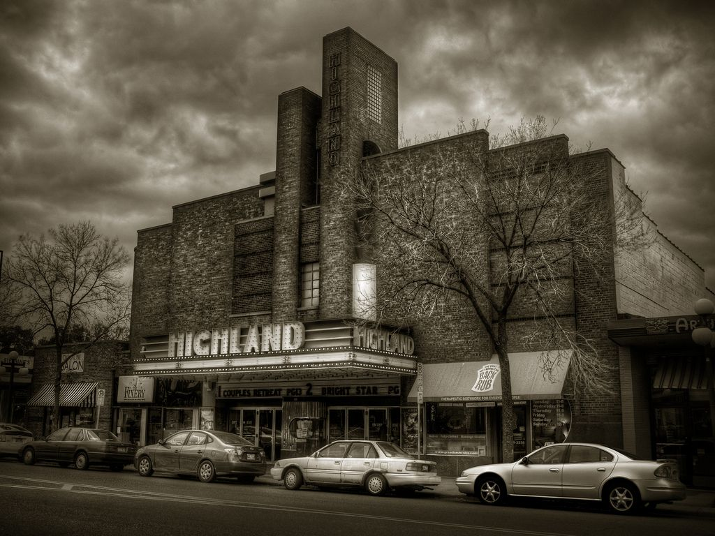 Highland theater in st paul movie theater theatre
