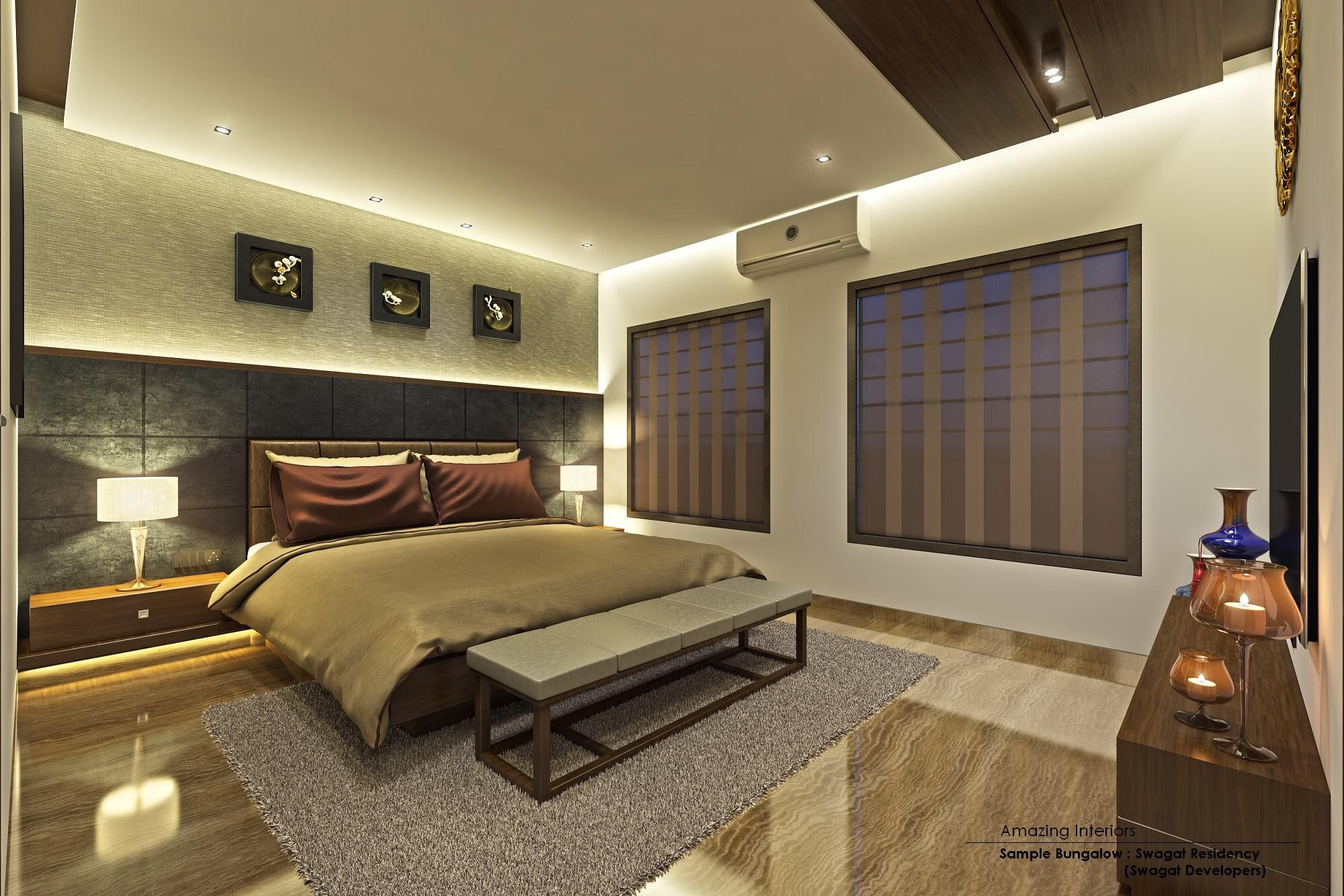False Ceiling Design Bedroom Office Home Theater