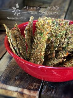 Abundant Veggie Flax Crackers Raw Vegan Gf Vegan