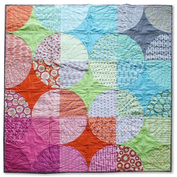 Modern Patchwork Summer 2015 FOR YOU fabrics by ZEN CHIC