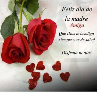 Felicitaciones Por El Dia De La Madre Simple Tarjetas Del