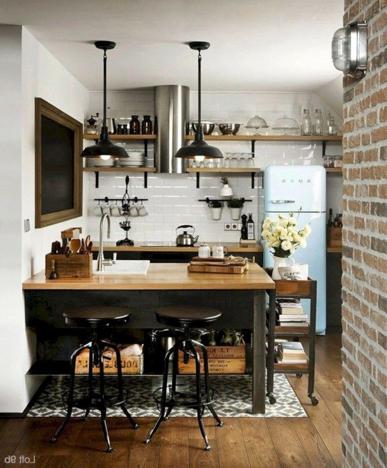 35+ Astonishing Kitchen Design Ideas For Small Apartment