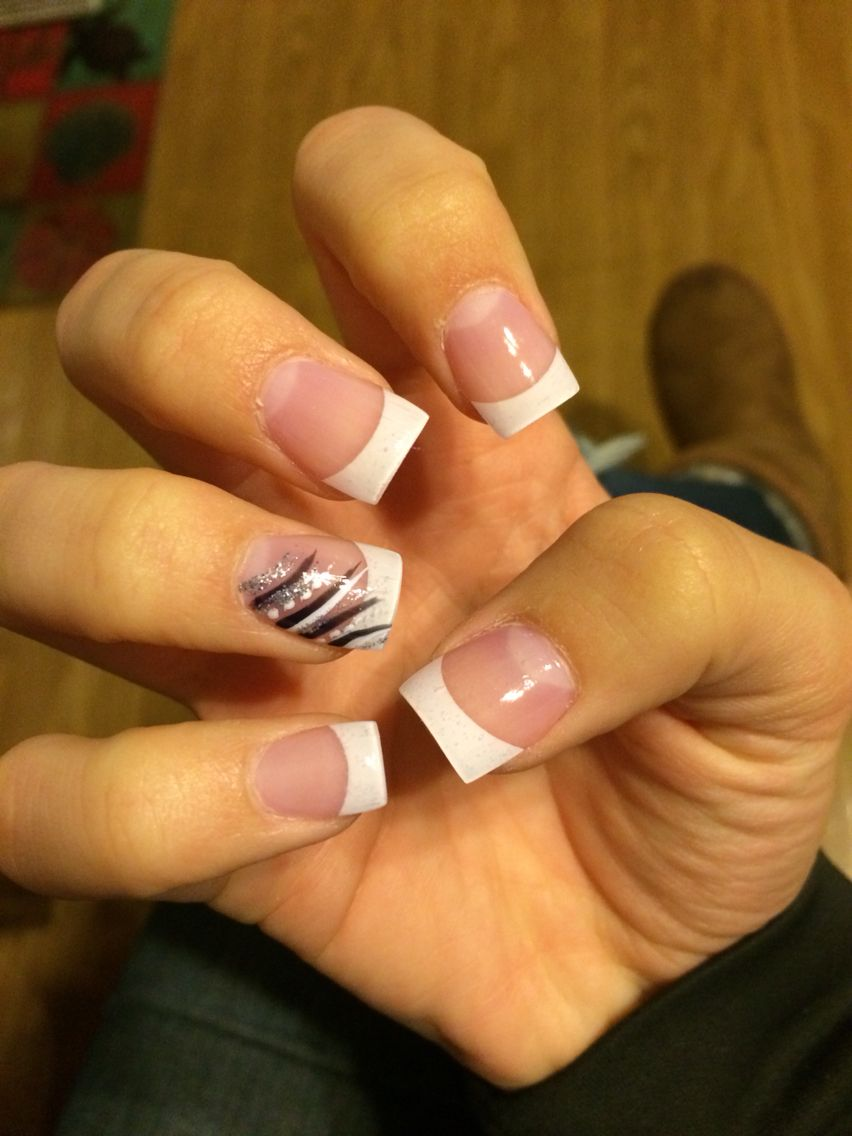 Best 25+ French tip acrylic nails ideas on Pinterest ...