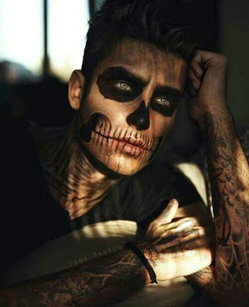Open rp) I sit, a bit alone, thinking of medical formulas, then I - maquillaje para halloween para hombre