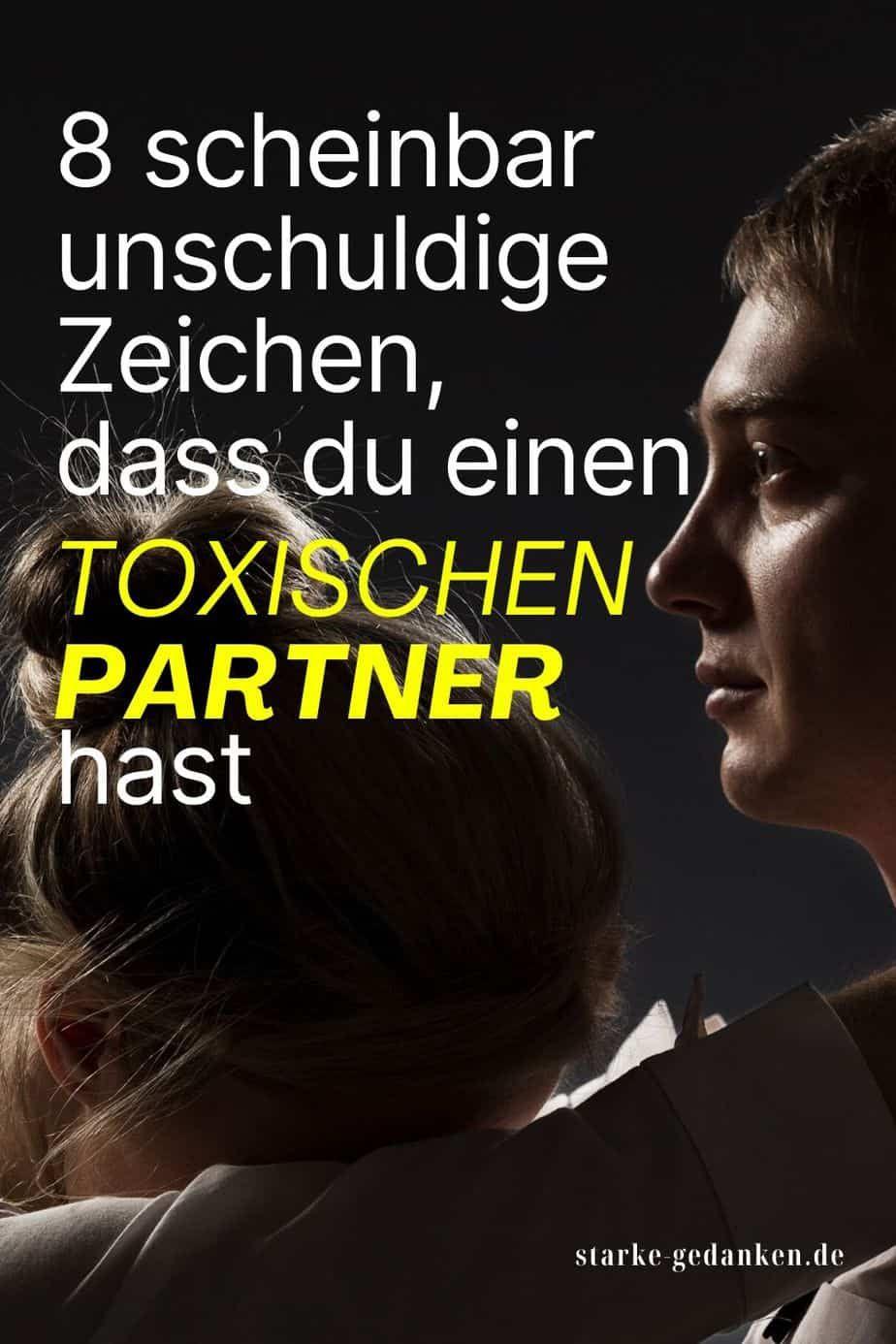 Toxische Partner