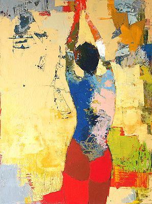 Jylian Gustlin Contemporary Art Figurative Painting