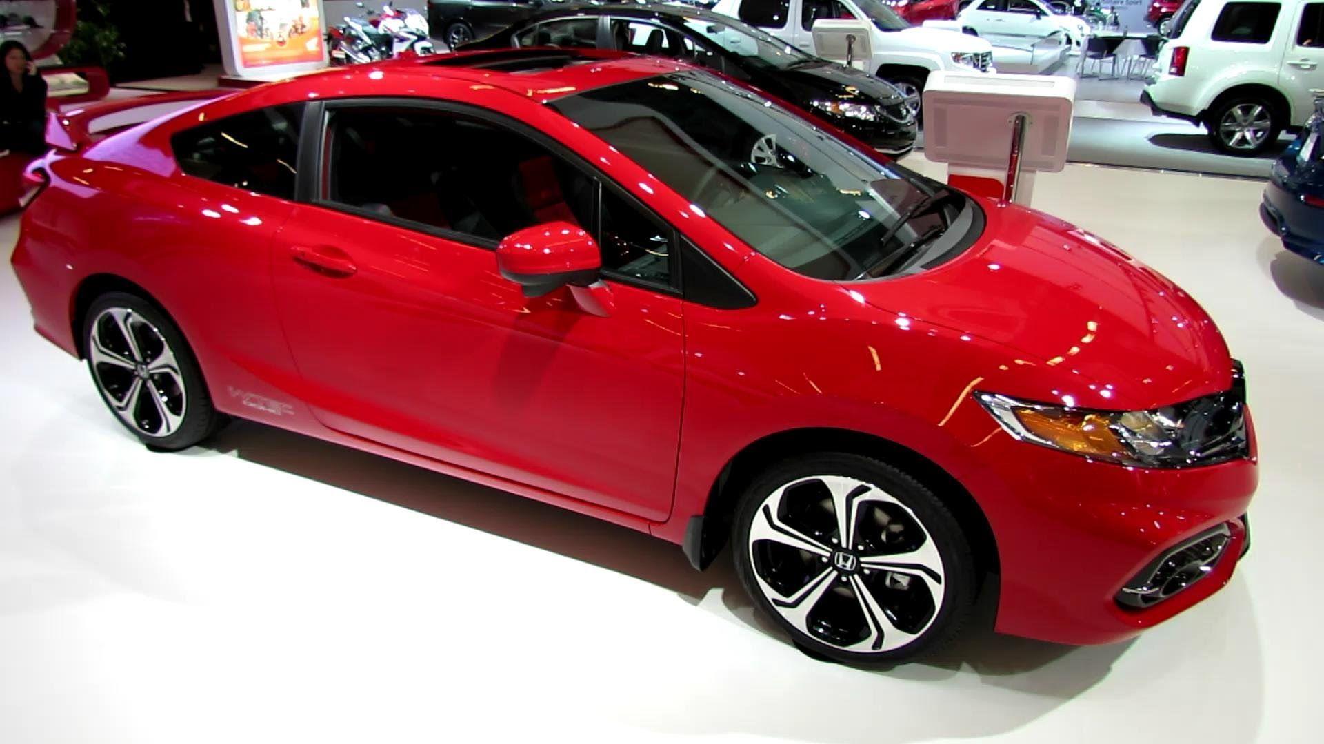 2014 honda civic si coupe exterior and interior walkaround 2014 montreal auto show