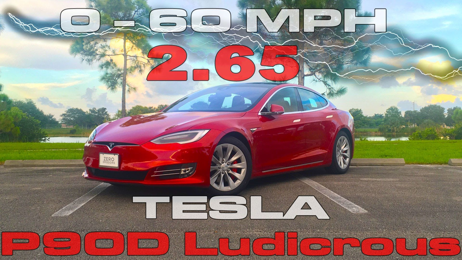 Mph In Seconds In The Tesla Model S Ludicrous