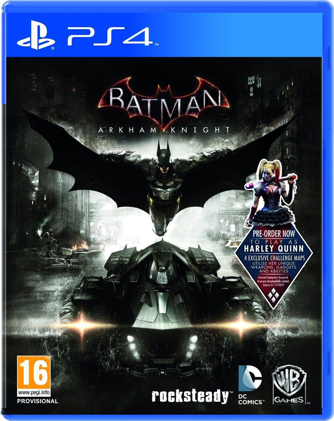 Batman Arkham Knight Ps4 Looking Forward So Play This Game Looks