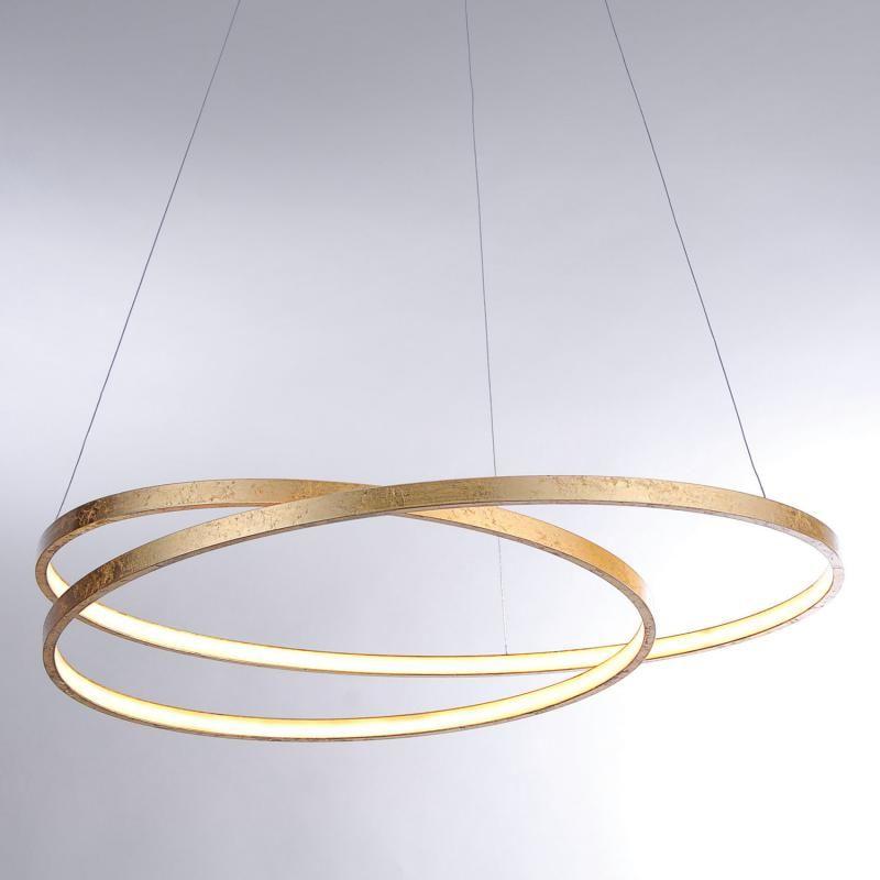 Paul Neuhaus Roman Led Die Led Pendelleuchte Ist Mit Ihrem In Sich Verschlungenen Filigranen Ring Aus Stahl Ein Aussergewo Led Pendelleuchte Pendelleuchte Led