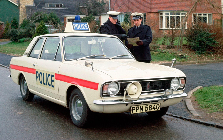 Ford Lotus Cortina Mk 2 Police Car Police Cars British Police