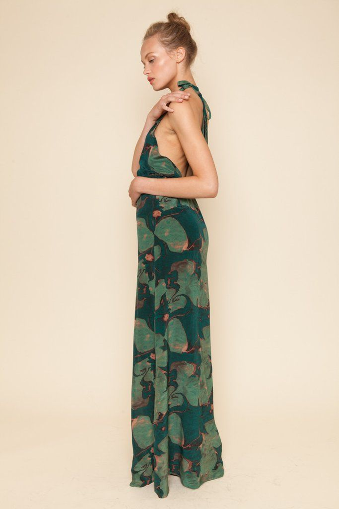 55f3b9ea7f5865 Stone Cold Fox ONYX gown in GREEN LILY #SCF | STONE COLD FOX | Gowns ...