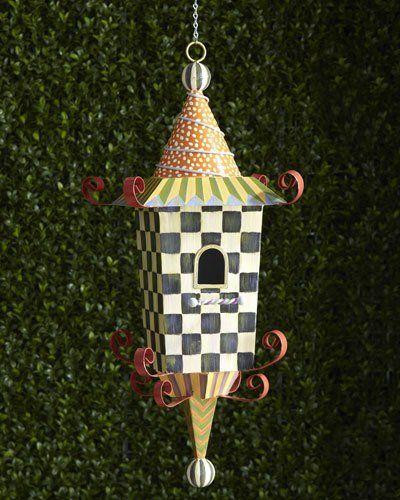 H707U MacKenzie-Childs Pagoda Birdhouse