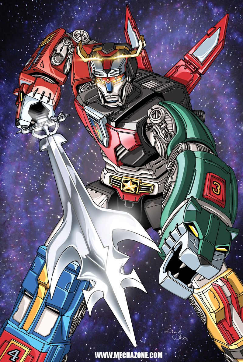 Voltron United and Drawn by *MechaMaster on deviantART