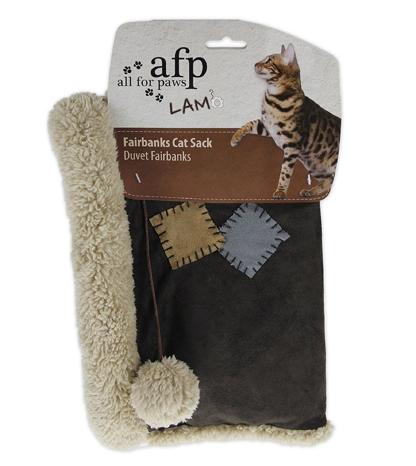 All for Paws Fairbanks Cat Sack *** Find out more details by clicking the image : Cat Beds and Furniture