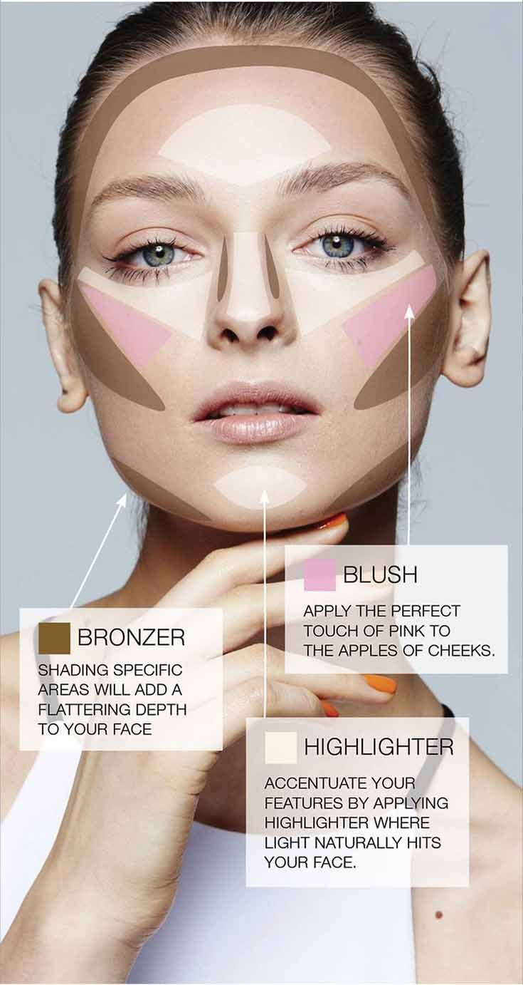Makeup Snow Queen: options for applying makeup and photos 21