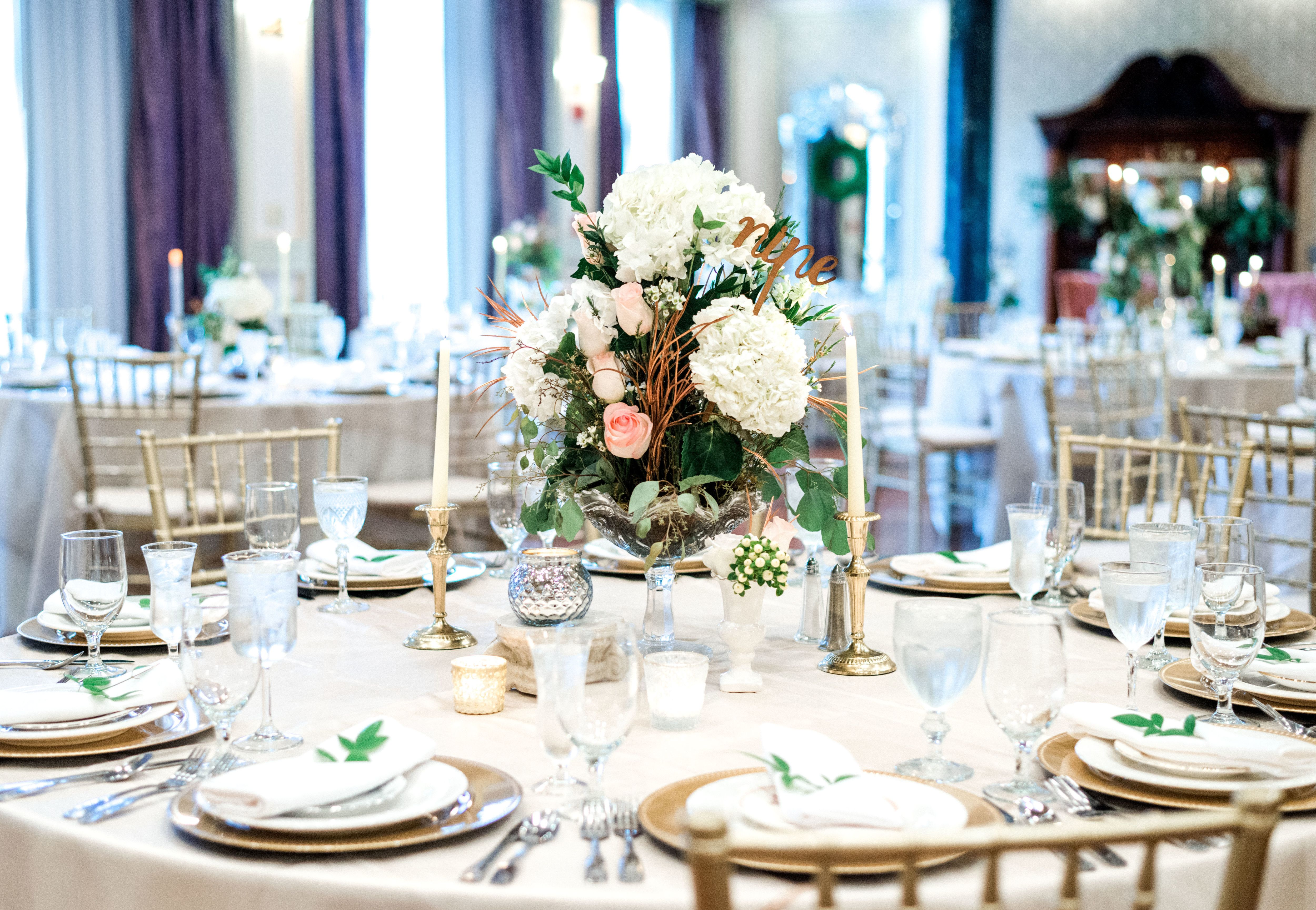 Carnegie Hotel - Tri-Cities Reception & Wedding Site. City Wedding  VenuesGold TouchElegant Table SettingsTri ...