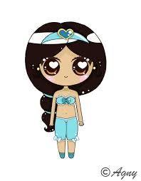 Resultado De Imagem Para Princesas Da Disney Kawaiis