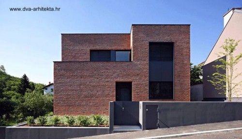 12 Casas Minimalistas De Gran Diseno Casas De Ladrillo Casa Ladrillo Visto Fachada De Ladrillo