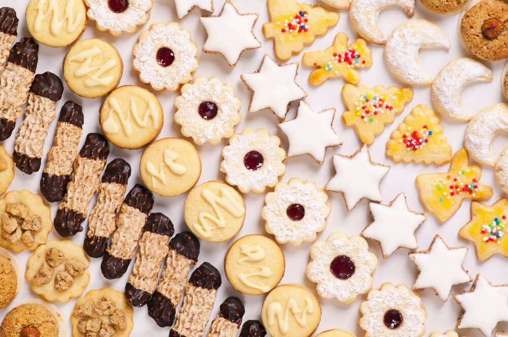 Here are 24 delicious, dairy free, grain free holiday cookie recipes that are so darned yummy, no one will know the difference!