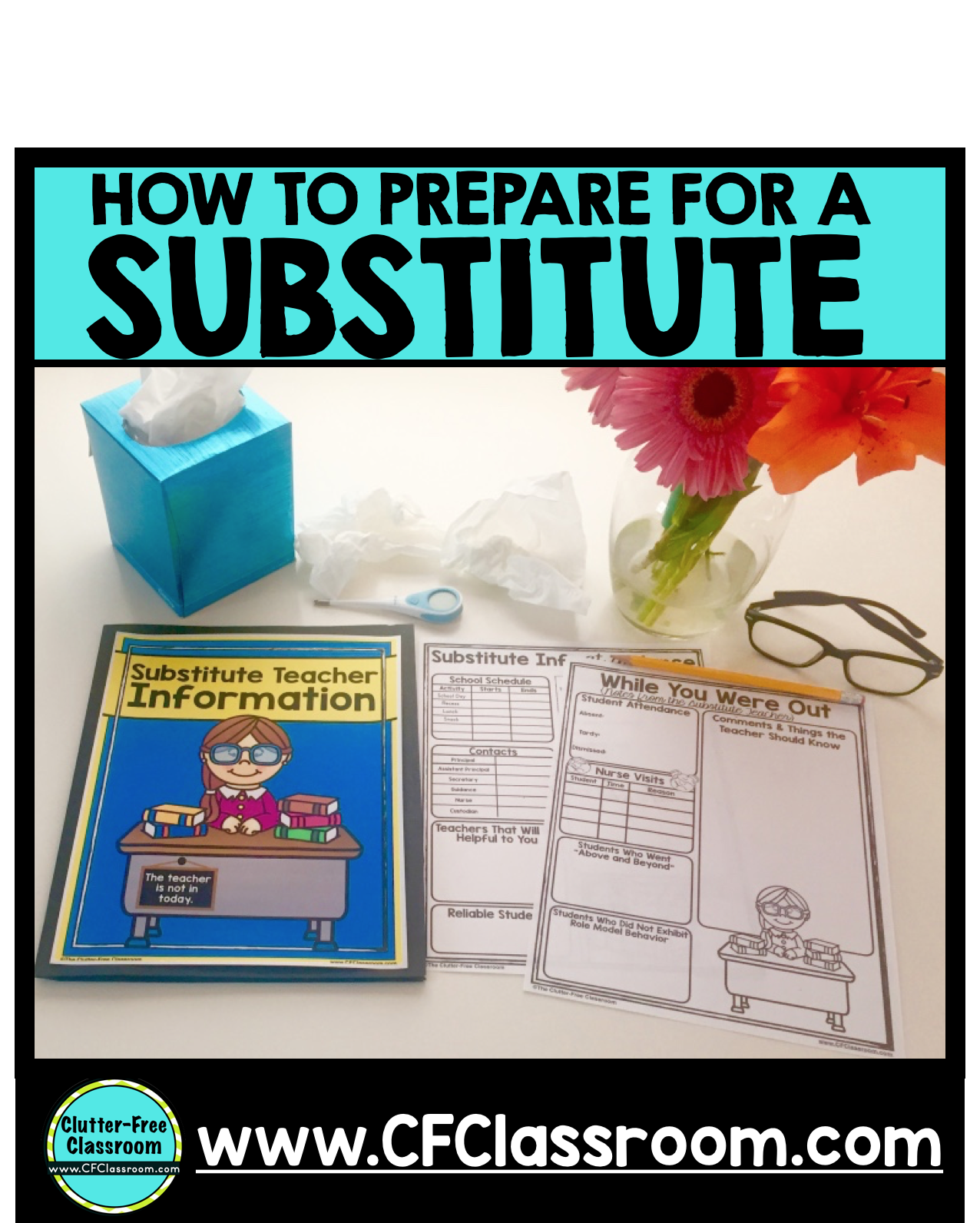 How To Plan For A Substitute Teacher