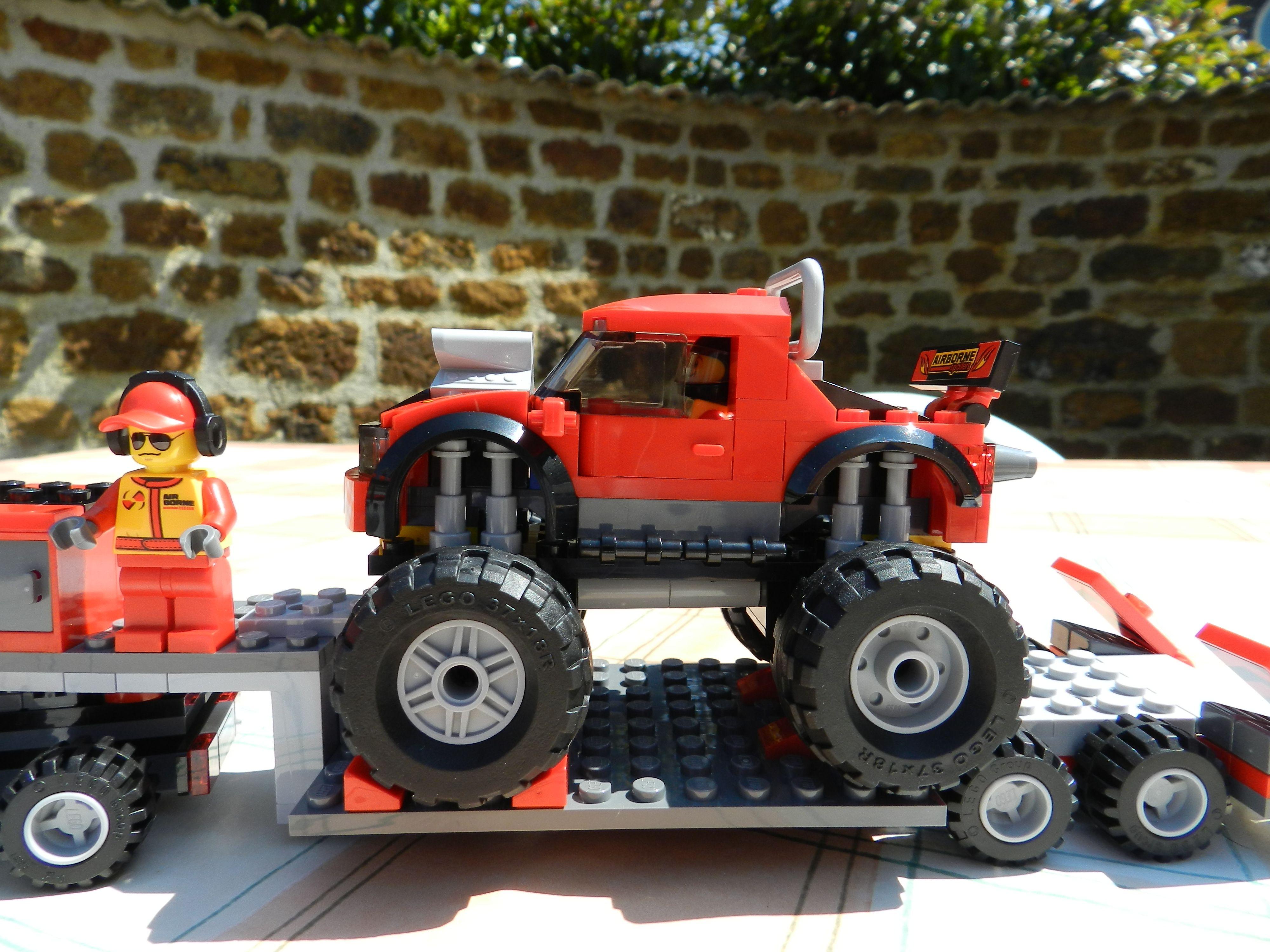 Lego City Monster Truck Transporter 60027 Lego