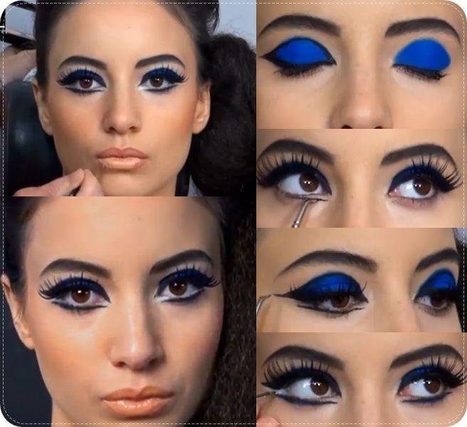 Id Like To Try This Mod Eye Makeup 60s Makeup Pinterest Mod