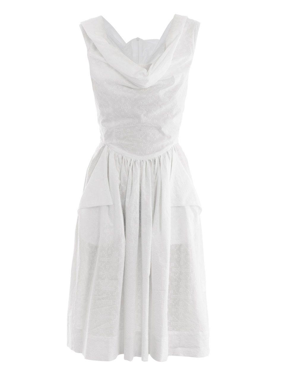 Vivienne westwood anglomania amaryllis cotton dress