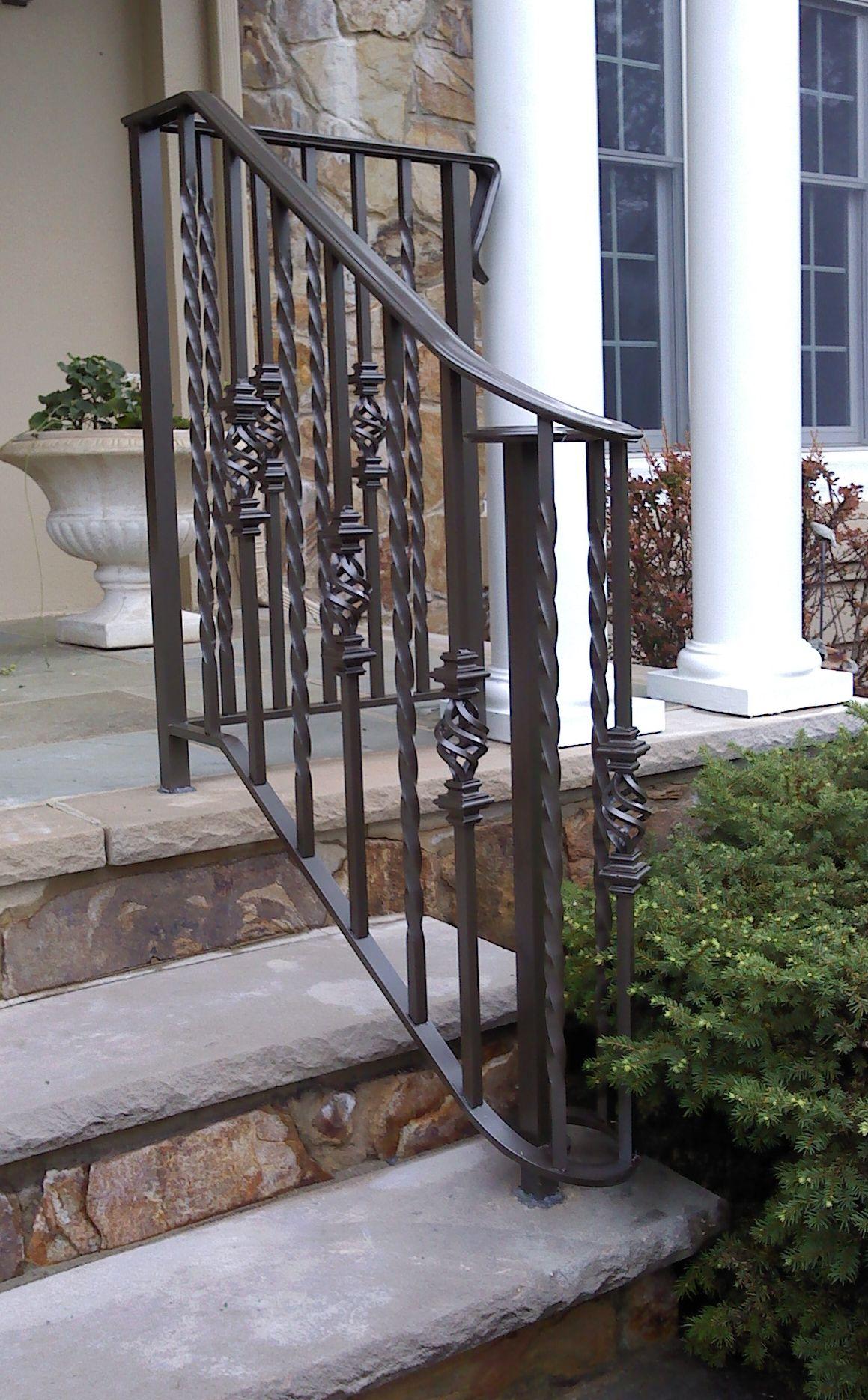 Best Outdoor Aluminum Railings Nj Exterior Stairs Iron Stair 640 x 480