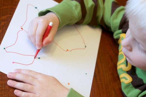beginner connect the dots for preschoolers hands on as we grow activities preschool. Black Bedroom Furniture Sets. Home Design Ideas