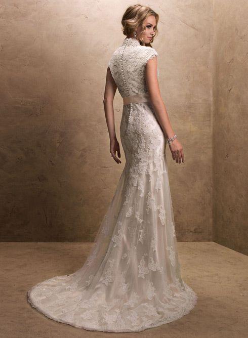Wedding Dress Wedding Dresses Lace wedding dresses vintage Maggie ...