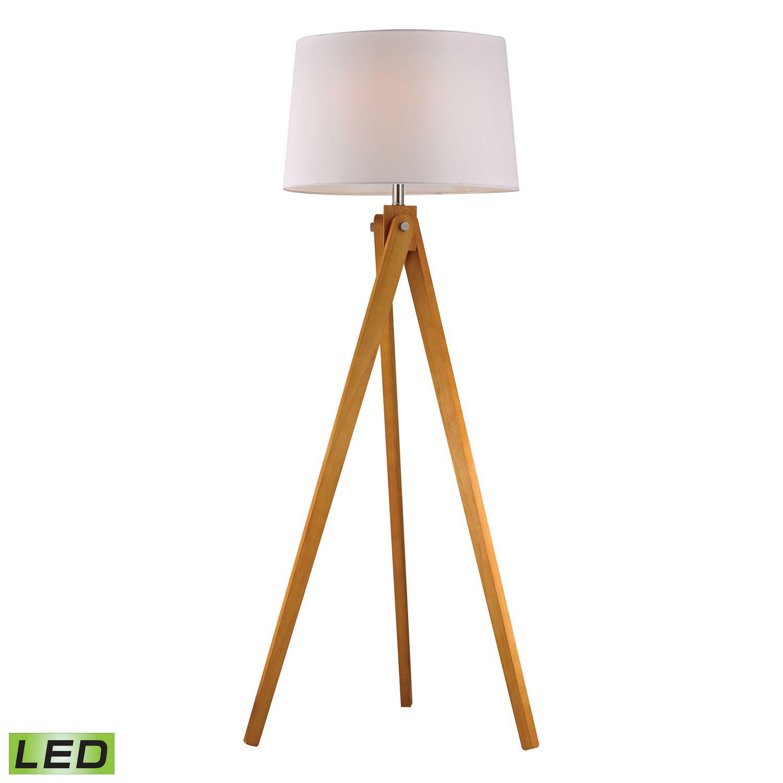 Artistic Tripod Wooden Base Lamp Tripod Floor Lamps Wooden Tripod Floor Lamp Floor Lamp