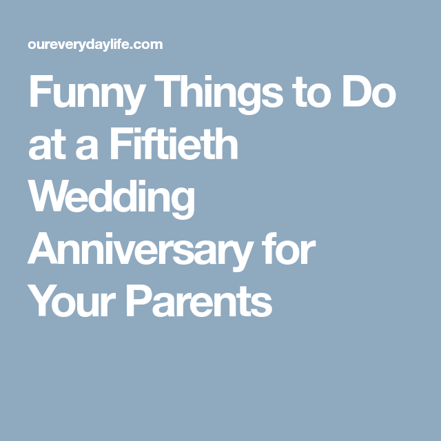 Fun things to do for anniversary