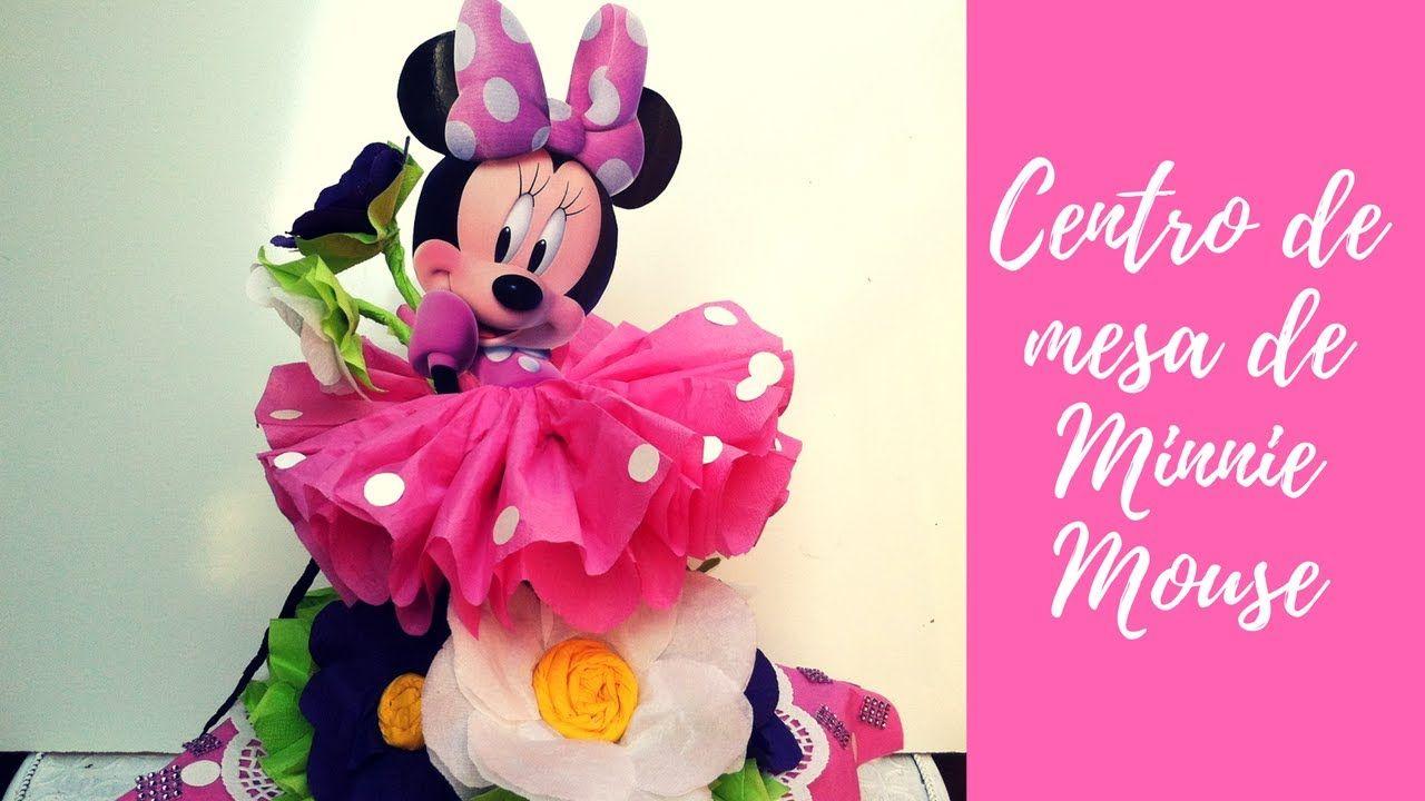 Como hacer un centro de mesa de Minnie Mouse | 🌸 Casa Boutique ...