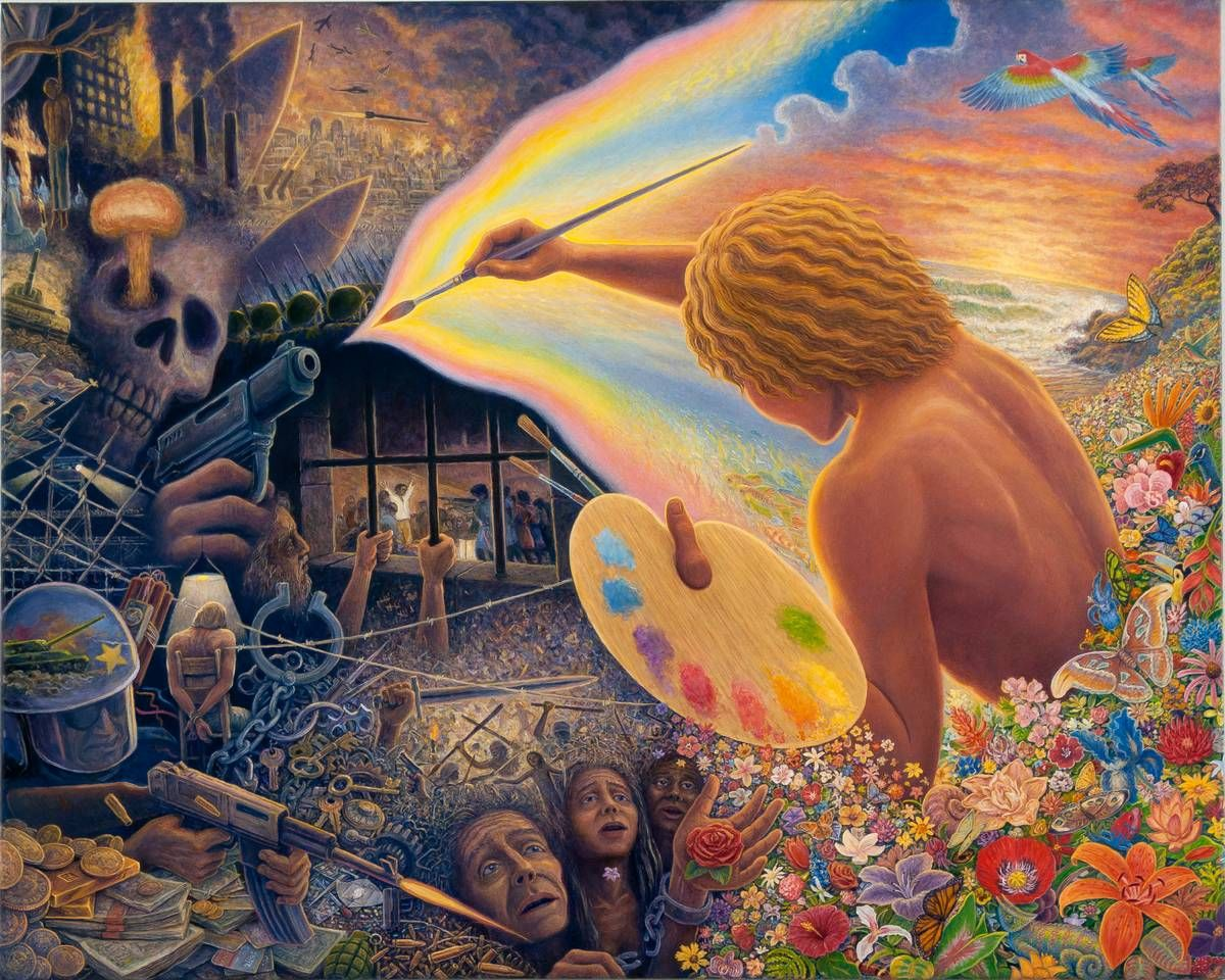Painting: The Visionary Art of Mark Henson - The Imaginal Hour